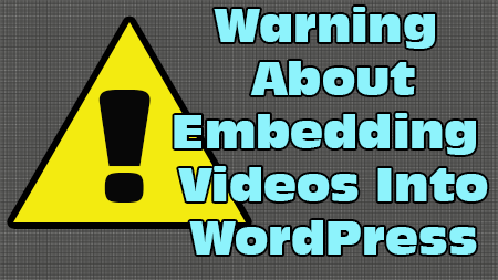 how to embed video into wordpress