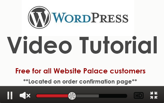wordpress video tutorial