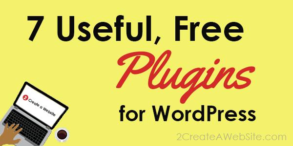 7 Free WordPress Plugins